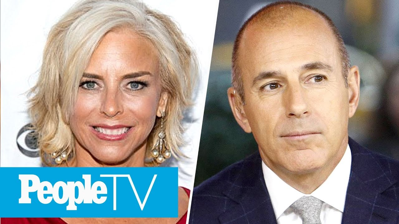 Matt Lauer's Ex-Wife Says She Supports Him 'One Hundred Percent' In Wake Of Allegations | PeopleTV
