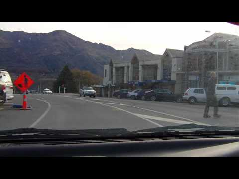 drive into WANAKA, New Zealand, our favourite town.