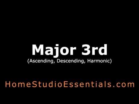 Ear Training: Major 3rd Interval (Ascending, Descending, Harmonic)