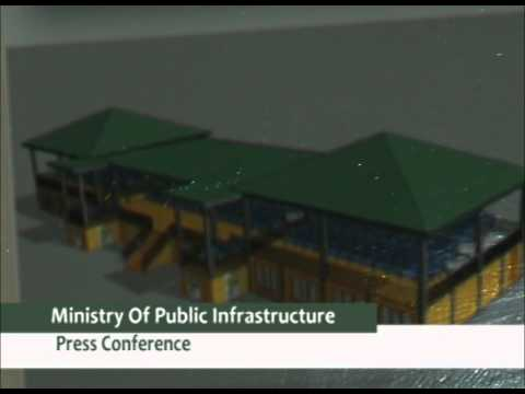 Ministry of Public Infrastructure Press Conference
