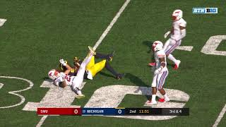 2018-09-15 NCAAF - Michigan Offense vs SMU - Every Snap