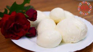 Сыр МОЦАРЕЛЛА Простой Рецепт в Домашних Условиях БЕЗ ЗАКВАСКИ Вкусно и Натурально