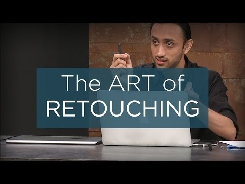 The Art of Professional Retouching
