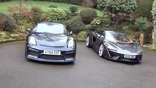 McLaren 540C vs Porsche GT4