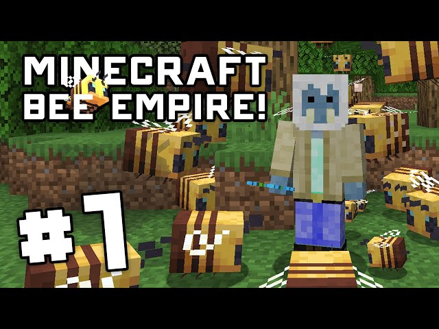 Minecraft Bee Empire! - EP 1 - Getting Started in the Forest