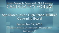 San Mateo Union High School District Gov. Bd. Candidates
