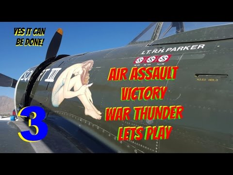 How to win War Thunder Air Assault #3 Lets Play 50+ kills More tips. How to win at air assault.