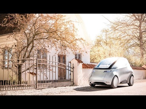 Uniti One electric city car hits the streets for the first time