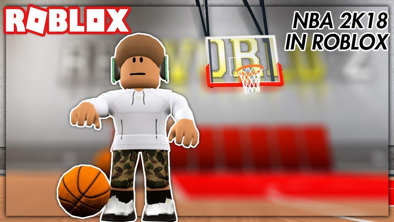 NBA 2K18 IN ROBLOX - YouTube