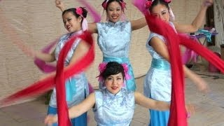 Chinese Ribbon Dancing Fusion with HIP HOP Dance and Breakin