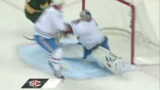 Georges Laraque Destroys Milan Lucic / Carey Price Robs Chuck Kobasew thumbnail