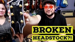 UNBOXING: A Broken Headstock? Uh oh!