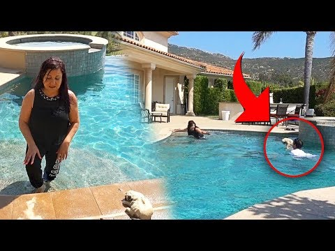 MY DOG DROWNING PRANK!! (MOM FREAKS OUT) | FaZe Rug