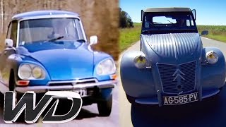 Citroen 2CV vs Citroen DS: Which Citroen Is The Best? | Wheeler Dealers