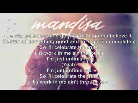 Mandisa  Unfinished Lyric