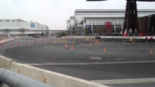 CeBIT-Highlight 2012: kleine Rundfahrt im Lotus Seven