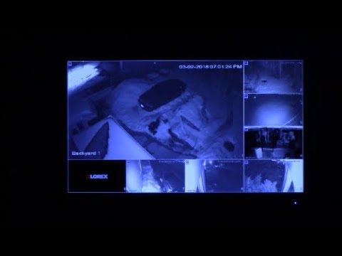 Lorex Security Camera System Night View Review Youtube