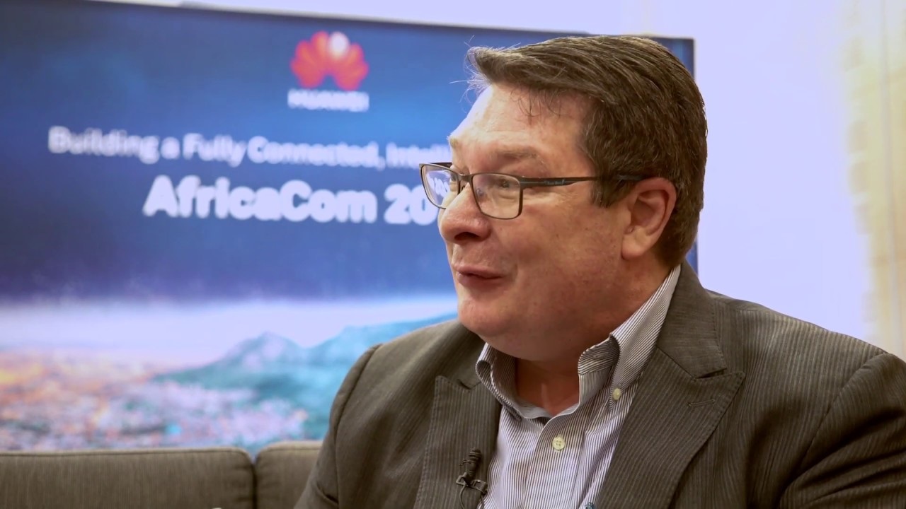 David Hoelscher, CTO of Huawei Carrier Business Group on IoT at  AfricaCom2018
