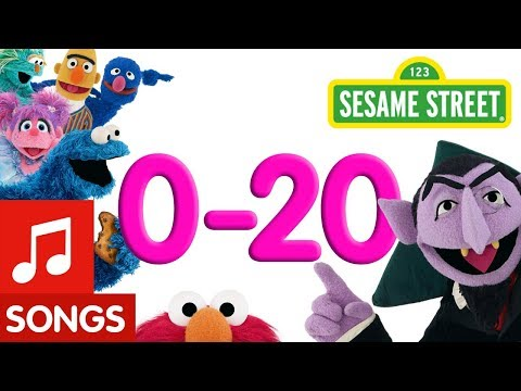 Sesame Street: 0-20 Counting Songs!   Number of the Day Compilation