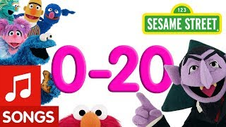 Sesame Street: 0-20 Counting Songs! | Number of the Day Compilation