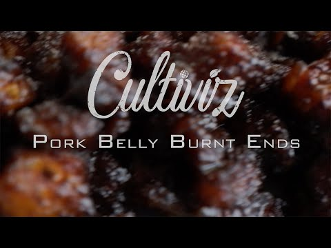 Hoe maak je Pork Belly Burnt Ends van de bbq?