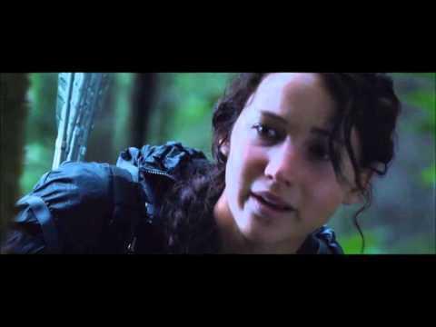 Katniss and rue tree scene