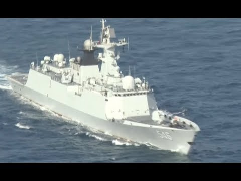 Chinese Naval Frigate Finishes Escort Missions for Merchant Ship of UNWFP