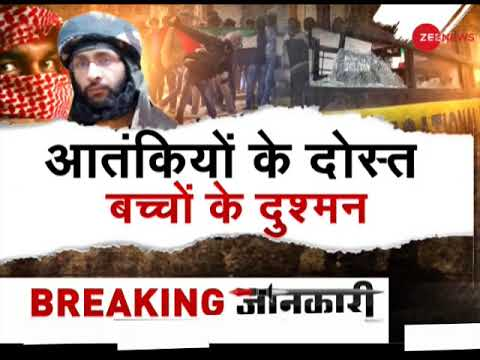 Shopian encounter: Stone pelters help terrorists to run away from security forces