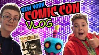 I MET TRAVIS PLUSH PRODUCTIONS || New York Comic Con Vlog