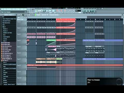 FL Studio 12 Beginners EDM Tutorial (No Extra Plugins R ...
