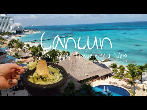 Cancun (캔쿤), Mexico | Grand Fiesta Americana Coral Beach, What I Ate In Cancun | Ep1