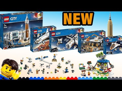 LEGO Summer sets: Space Creator Architecture 50+ pics & thoughts