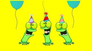 Birthday Frogs from Millan.Net