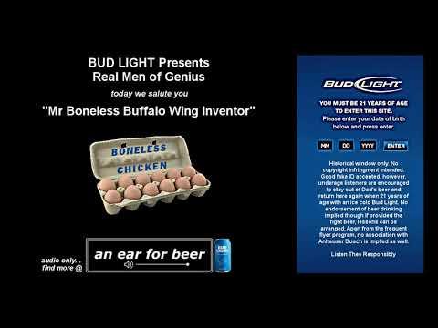 Mr Boneless Buffalo Wing Inventor