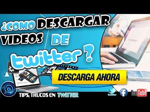 DESCARGAR VIDEOS DE TWITTER SIN PROGRAMAS