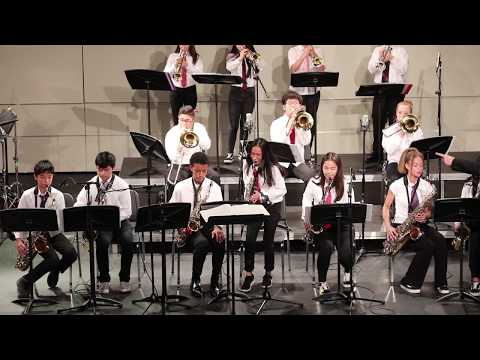 CMEA Jazz East Festival 2019 - Green Valley Middle School Jazz Band