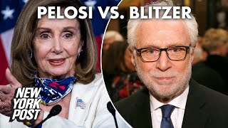 Nancy Pelosi calls Wolf Blitzer a GOP 'apologist' during epic on-air spat | New York Post