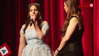 اتفرج| ياسمينا تتألق في العروض المباشرة لـ«جوت تالنت» بالقاهرة