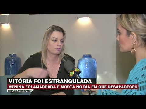 Laudo confirma morte de Vitória por asfixia