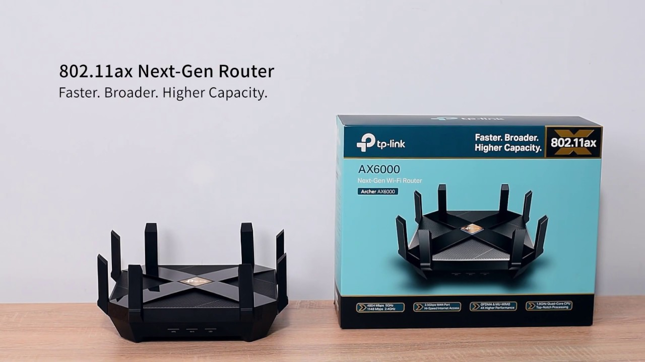 The Unboxing and Overview of TP Link 802.11ax Wi Fi Router Archer AX6000