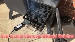 How to Light Charcoal Without Lighter Fluid Or Matches