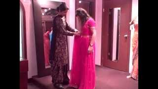 How to Tie a Saree -  Tie a Sari Instruction Video - Indian Wedding Vancouver, Punjabi Wedding Dress