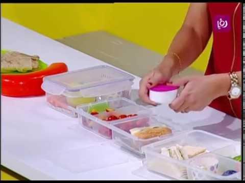 أفكار لتحضير وجبة افطار المدرسة