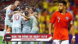 Bản tin Cảm Bóng Đá ngày 14/10 | Sanchez chấn thương nặng; Nga và Ba Lan chính thức đến EURO