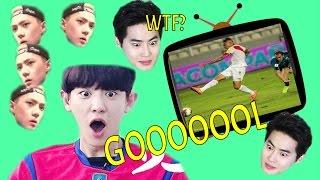 exo on crack 5 espaol 4 babys maluma ft chanyeol gol de per exo reaction