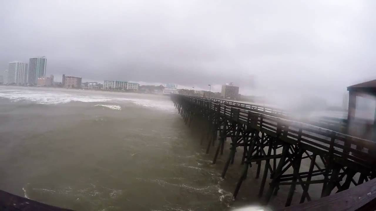 Hurricane Hermine Myrtle Beach Sc 9 2 2016