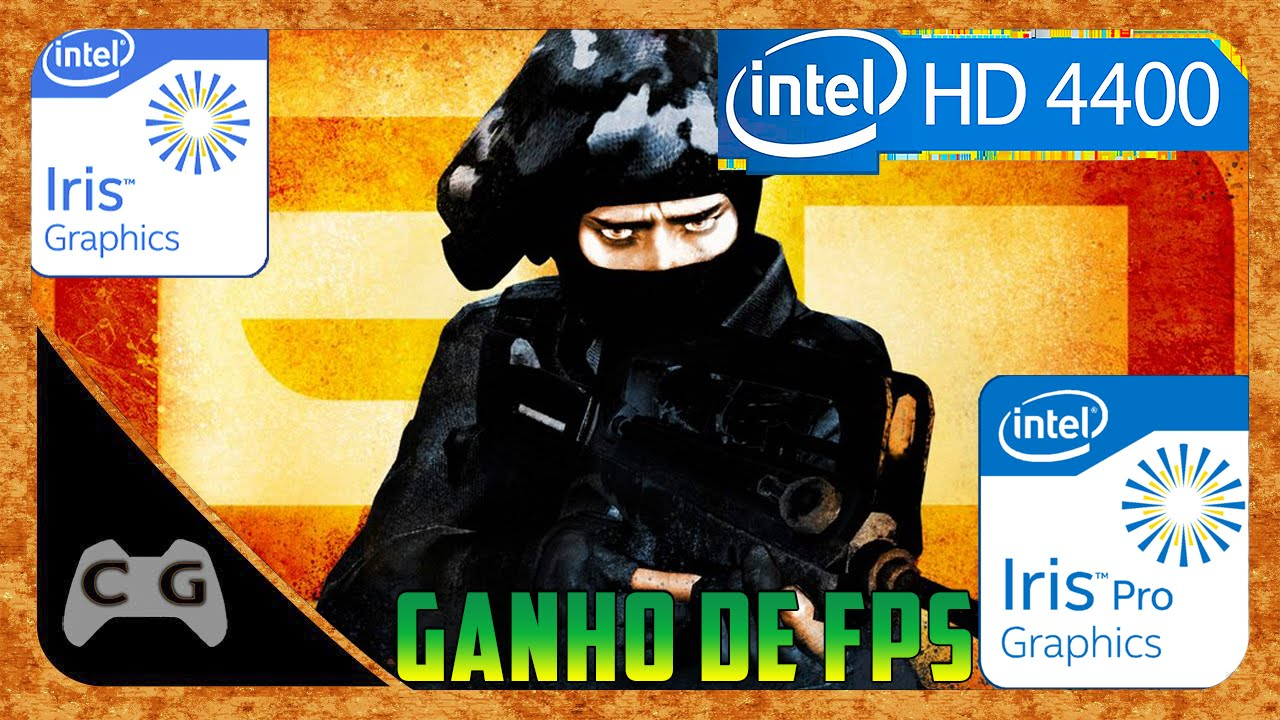 CS:GO Na Intel HD Graphics 4400 Testando Novo Driver