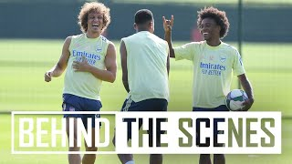 🤣 IF YOU LOSE YOU DO PUSH-UPS! | Behind the scenes at Arsenal training centre