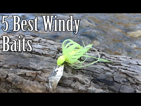 Best 5 Baits For Fishing In The Wind. Rainy, Overcast Days. What Lure To Use For A Storm.