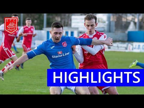 Stranraer Stirling Goals And Highlights